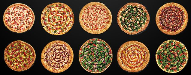 Behold all the crazy new pizzas from Pizza Hut's brand new menu
