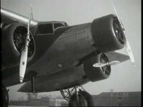 De Fokker F-XX Zilvermeeuw (1933) - YouTube