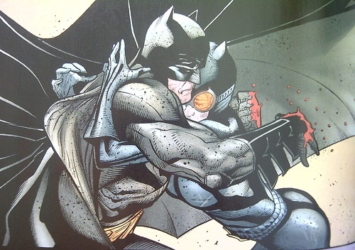 The new 52 Batman and Catwoman