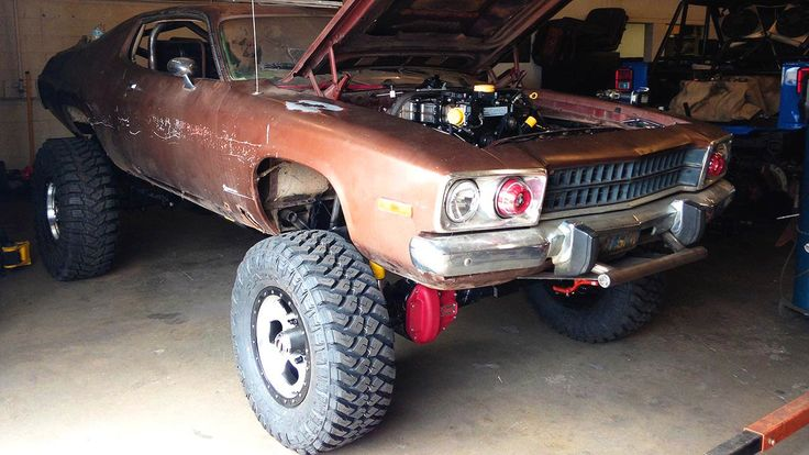 Mad Maxxis Off Road Runner Muscle Car Desert Chase Dirt