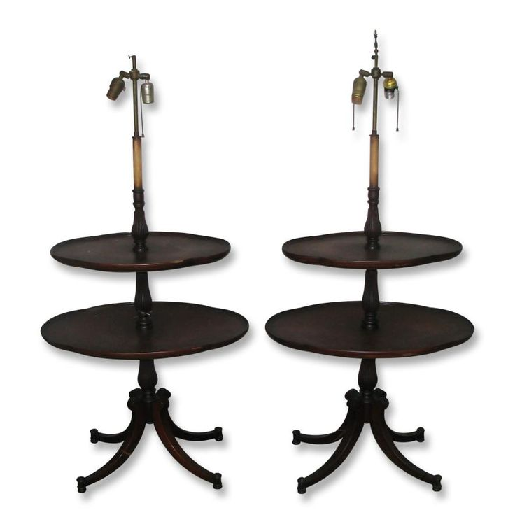 Antique mahogany two tier lamp stand tables: Architectural Salvage Online Store, Buy Altered Antiques | OGTstore.com