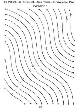 Curved Lines Sewing Practice More Practice With