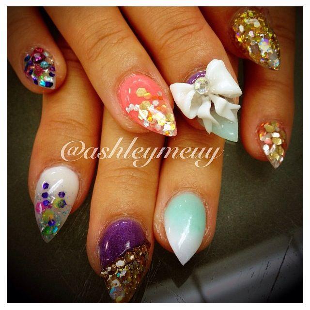 pastel fantasyland nails dope nail design ideas nail
