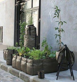square foot gardening bag by bettye
