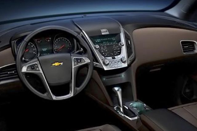 Chevy Equinox dashboard...what I liked the most!
