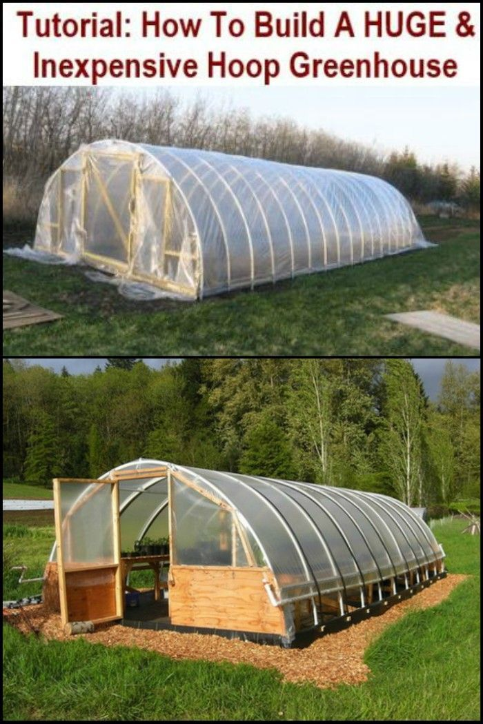 Grow Wide Range of Produce, Even in Season Not Ideal For Growing Crops by Building a DIY Greenhouse