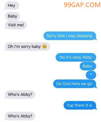 i'm abby.........this is weird