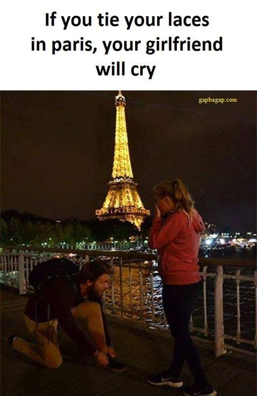 Funny Memes About Girlfriend vs. Paris
