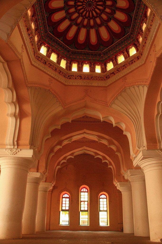 Thirumala Nayak Palace, Madurai, Tamil Nadu.