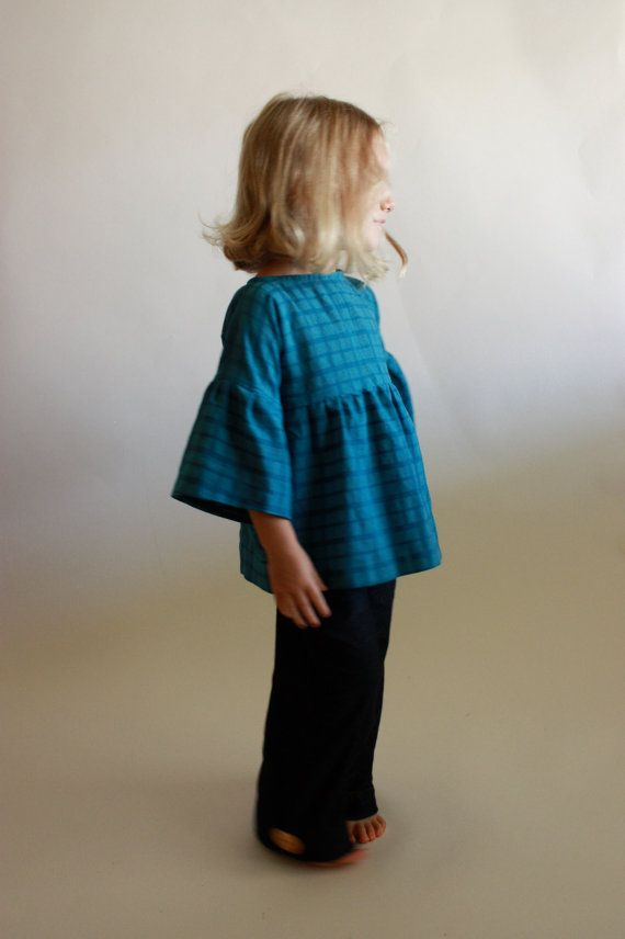 September Tunic & Dress / toddler 12m to girls 10/12 / instant download