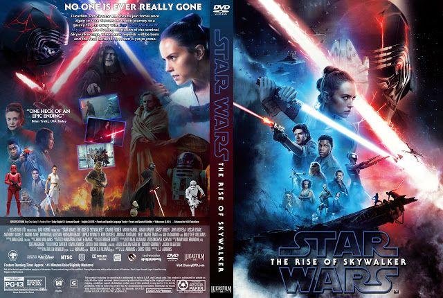 Star Wars Episode Ix The Rise Of Skywalker Dvd Cover In 2020 Dvd Covers Movie Covers Skywalker