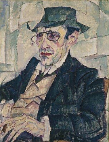 Leo Gestel, De dichter Jac. Rensburg - Stedelijk Museum Amsterdam