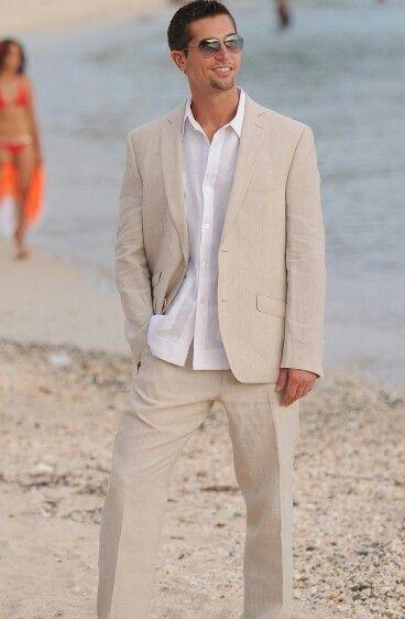 Suit For The Hubby Summer Wedding Attire Beach Wedding