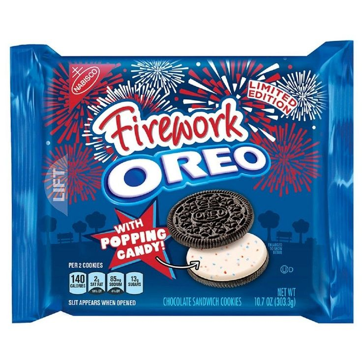 Nabisco Oreo Firework with Popping Candy - 10.7oz