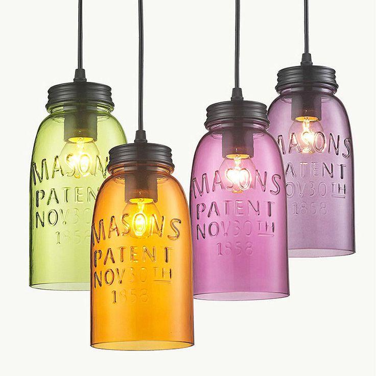 171 best lights indoor images on pinterest ceiling lamps modern bottle color glass pendant lighting hanging ceiling fixtures lamp light aloadofball Gallery