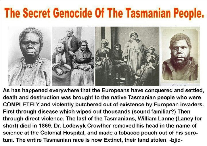 The Secret Genocide Of The Tasmanian People