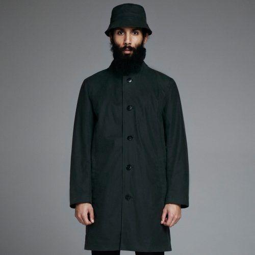 Stutterheim Inferno coat in green