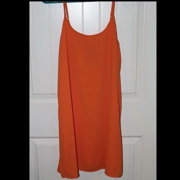 Everly - orange & blue bow dress Never worn - NWOT - downsizing closet - perfect for Auburn games, Florida games, UVA games, etc. Everly Dresses Mini