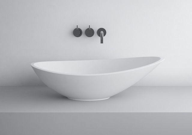 GRACE 564C Beatufiul, simple design.  #marmite #marmiteSA #design #washbasin #lavabo #waschtisch #countertop #aufsatzbecken #quality #qualita #bathroomdesign #bathroom #bagno #badezimmer #swedishheritage #schwedischeWurzeln #patrimoniosvedese