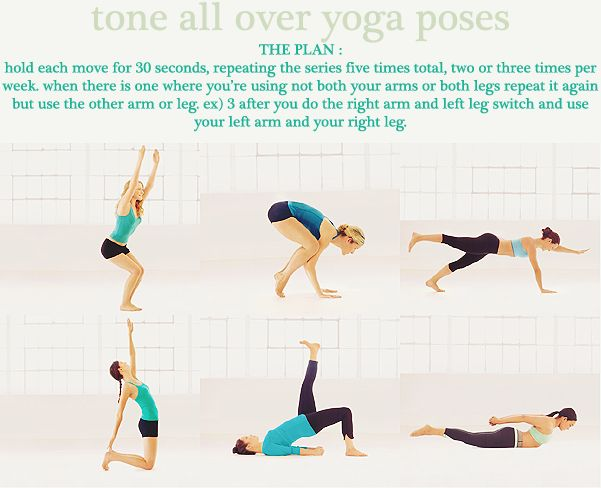 Finally a yoga pose chart that tells you how long to hold each pose.    This is dope! Who's down??