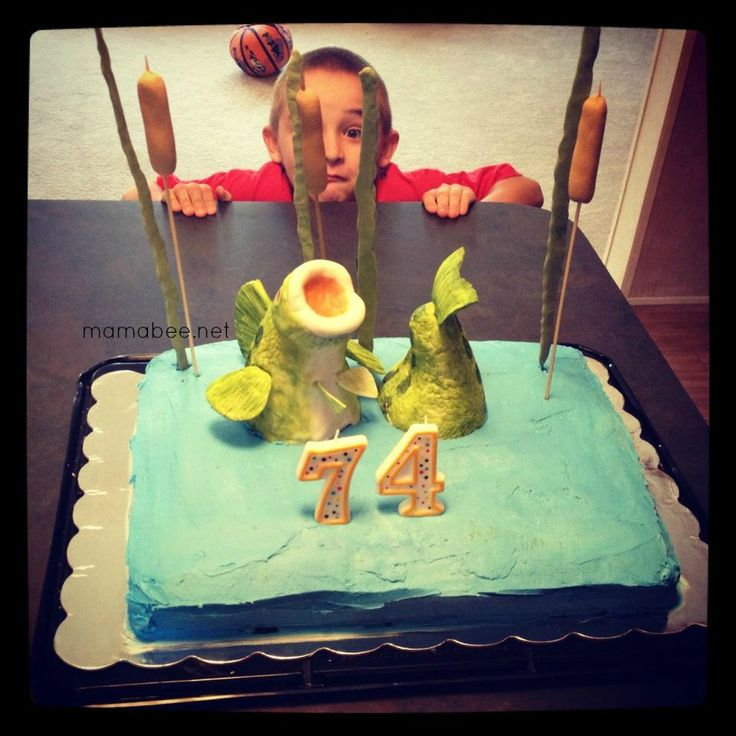Top 24 ideas about fishing birthday cake on Pinterest ...