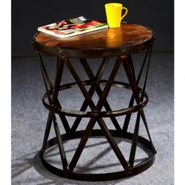 Industrial Wire Side Table | $229.00 - Milan Direct