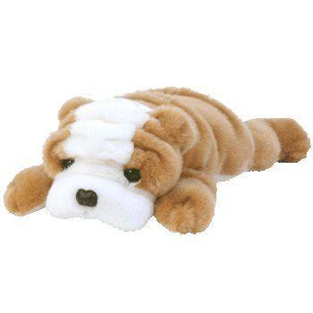 TY Beanie Buddy - WRINKLES the Bull Dog