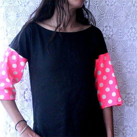 Ladies Neon & Black Equinox Dress - Sizes 10-16
