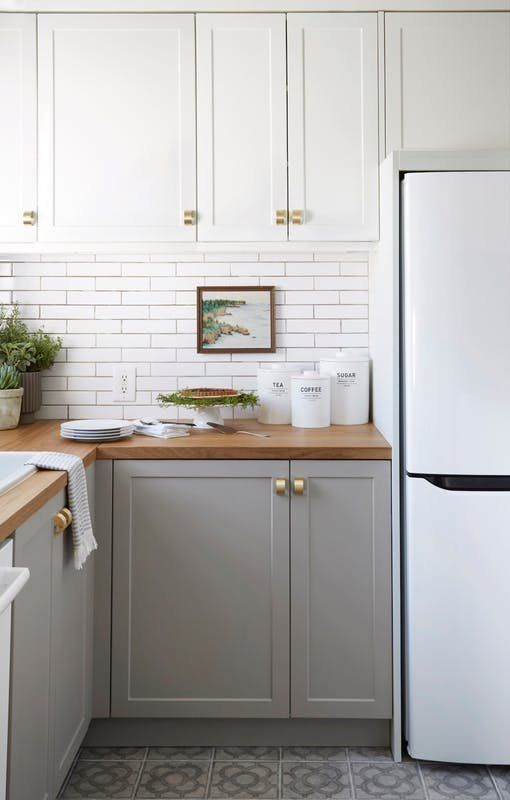 9 cheap but chic ideas to refresh your tired kitchen kitchens rh pinterest com