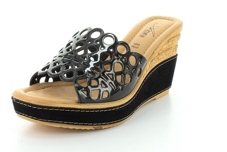 Azura Women's POLIDOR Black Sandals 36 M EU, 5.5-6 M >>> You can find more details by visiting the image link.