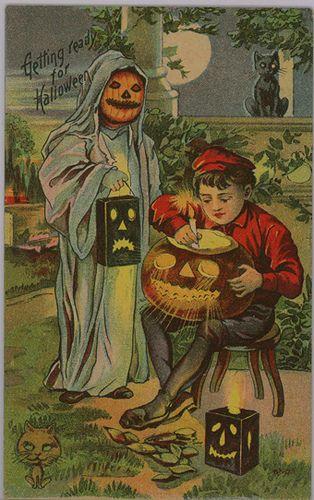 "Halloween Postcard ""Luminary"" series   Flickr - Photo Sharing!"