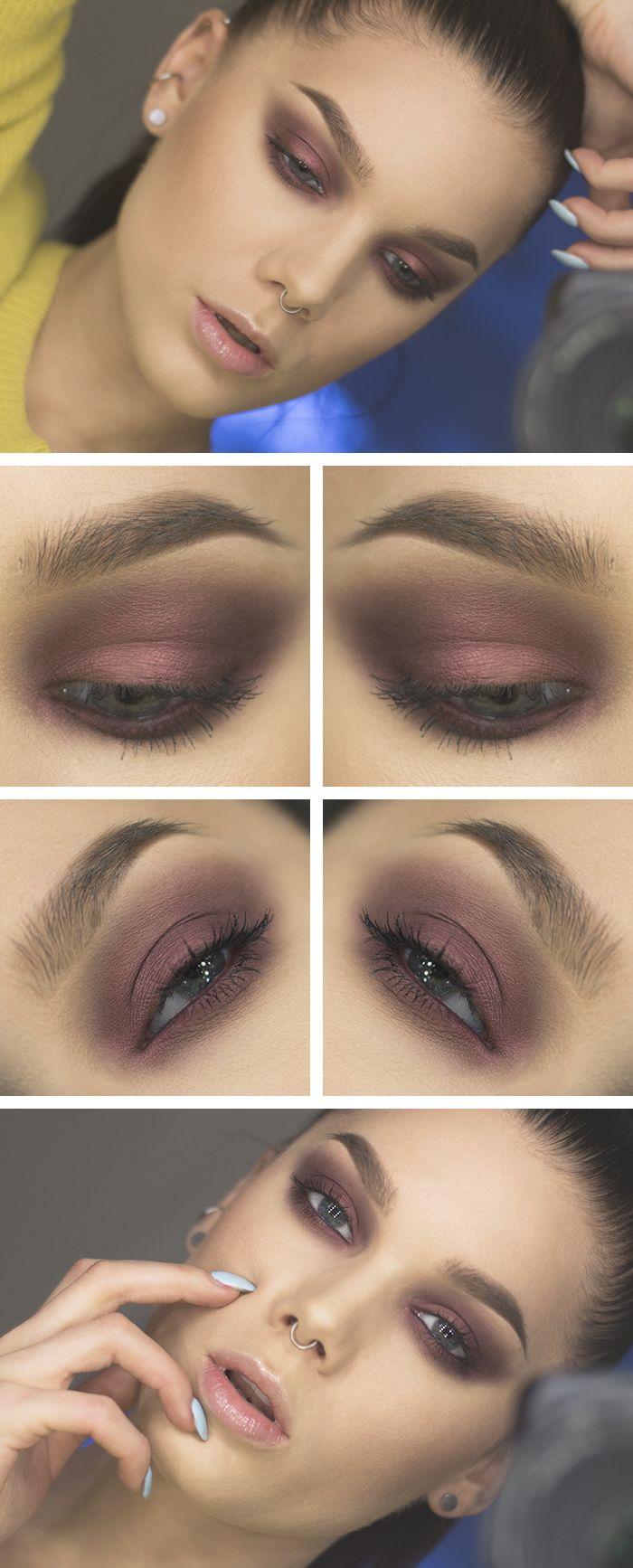 BLAAH - EYES: MAC Eyeshadow Vainglorious (from Disney collection), MAC Fix+, MUS MS Desert, NYX Doll eye mascara long lash. LIPS: Dior Addict Ultra-gloss 152 Pearl. CHEEKS: Anastasia contour kit, MUS Wonder powder Sinai, MUS Blush Zarci.