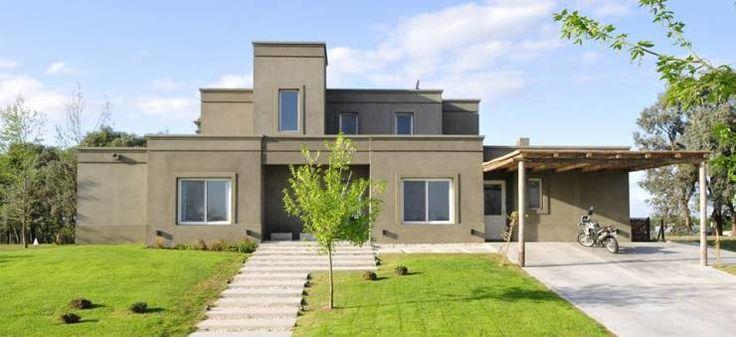 Casa en Pilará: Casas de estilo moderno por Aulet & Yaregui Arquitectos