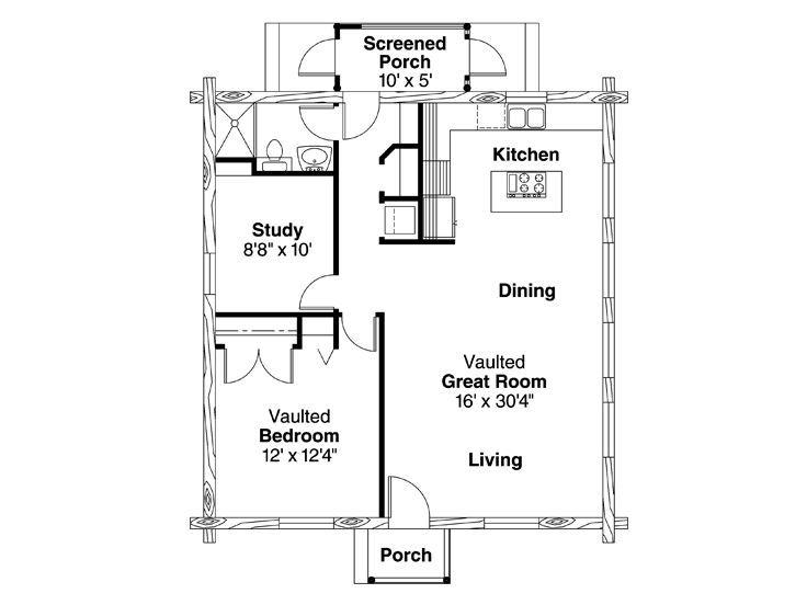 16 best Mountain Home Plans images on Pinterest Tiny cabins, Log - copy garage blueprint maker