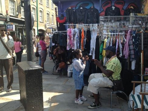 Sunday at #BrickLane Market in London!