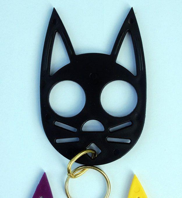 Knuckle Kitties Keychain Doubles As A Badass Self Defense