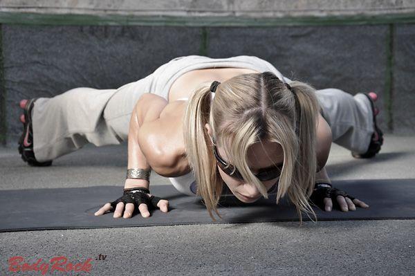 hard bodies workout - no equipment needed