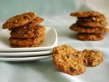 Овсяное печенье для тонкой талии