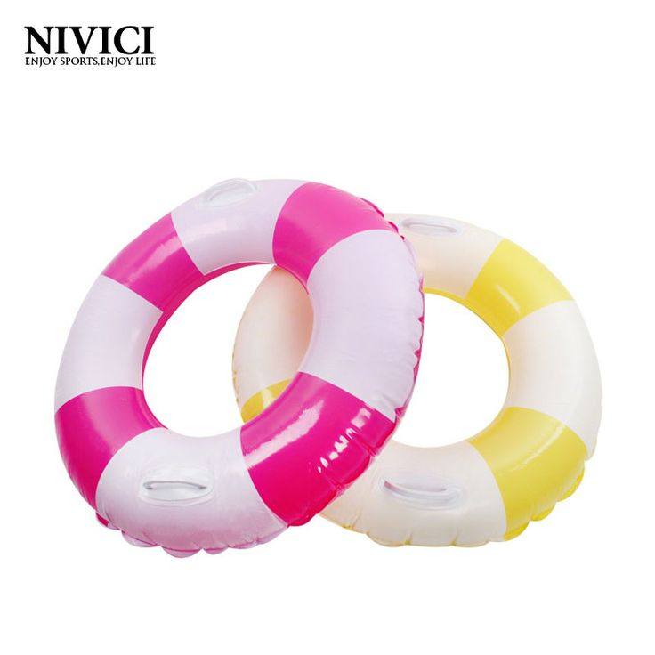 2016 Rainbow Swim Circle Life Buoy for Water Sports PVC Summer  Eco-friendly Inflatable Swimming Rings Floating Swimming Laps