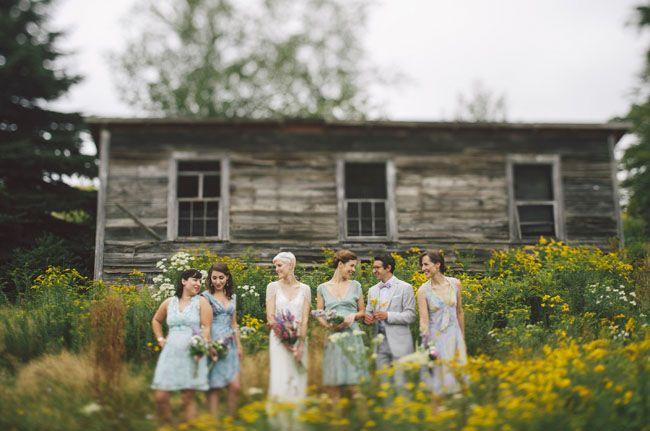 bridesmaids + bridesman