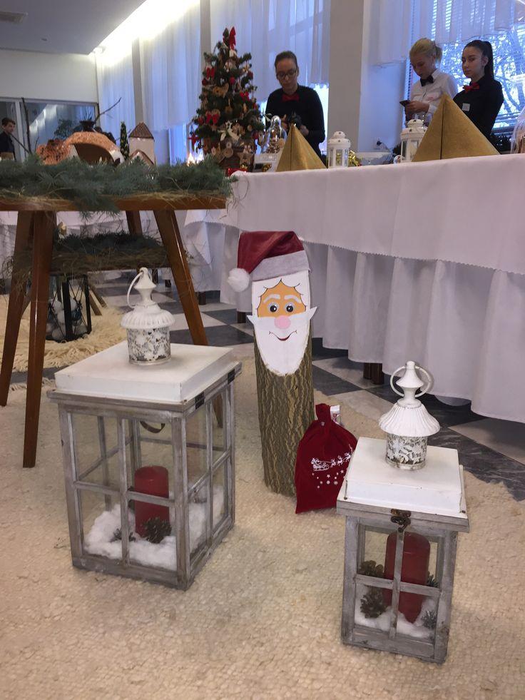Santa and lights 🕯🎅🏽