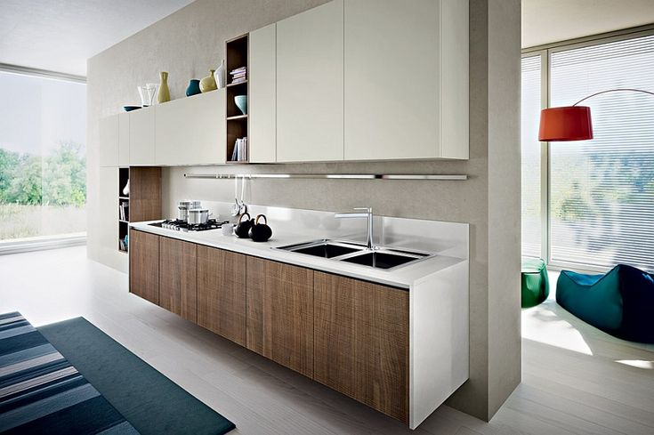 Wall mounted kitchen workstation improves the aesthetics of your home