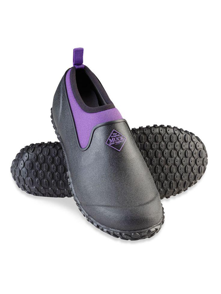 Gardening Shoes - Rubber Garden Shoes - Women's Muckster II Low Shoes