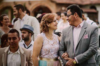 Los consejos de parejas en sus bodas de oro a los recién casados. ¡Felices para siempre!