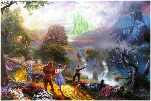 Dorothy Discovers the Emerald City(The Wizard of Oz Collection I)byTHOMAS KINKADE