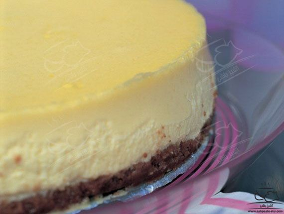 چیز کیک لیمو و شکلات