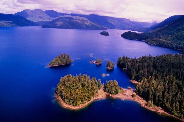 Zachodnim wybrzeże wyspy Vancouver, Kolumbia Brytyjska, Kanada.