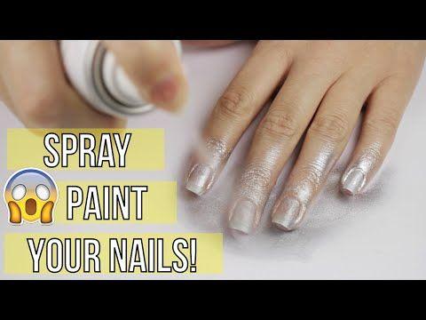 arriva lo smalto spray per le unghie - nail art tutorial
