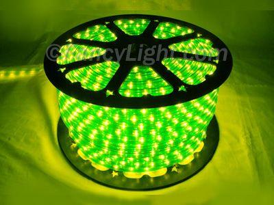 Rope Light Fluorescent Green LightingNeon PartyBackyard