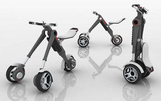 Roixcroix 3 wheel Scooter